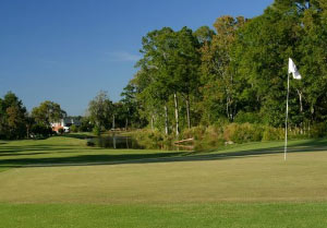 A photo of Shadowmoss Planation's beautiful golf course